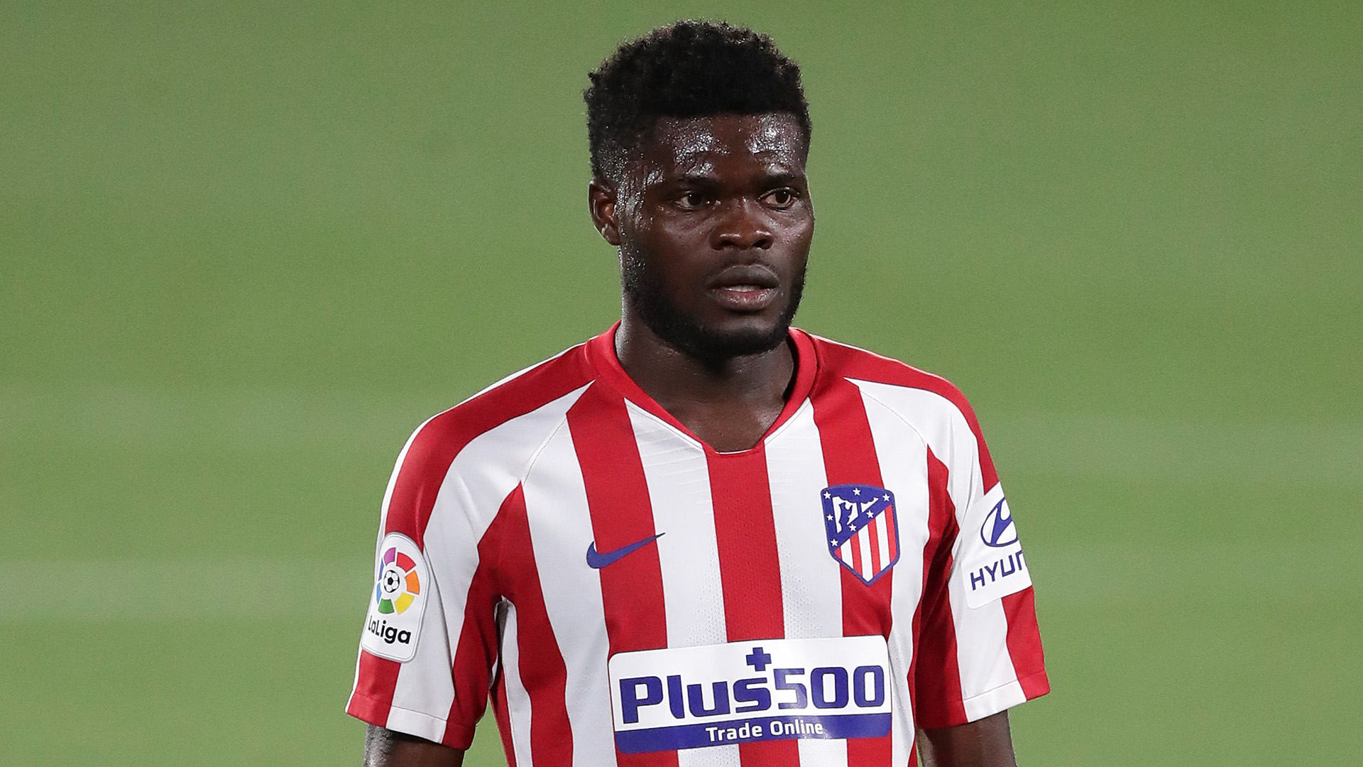 Partey sends emotional message to Atletico Madrid after joining Arsenal