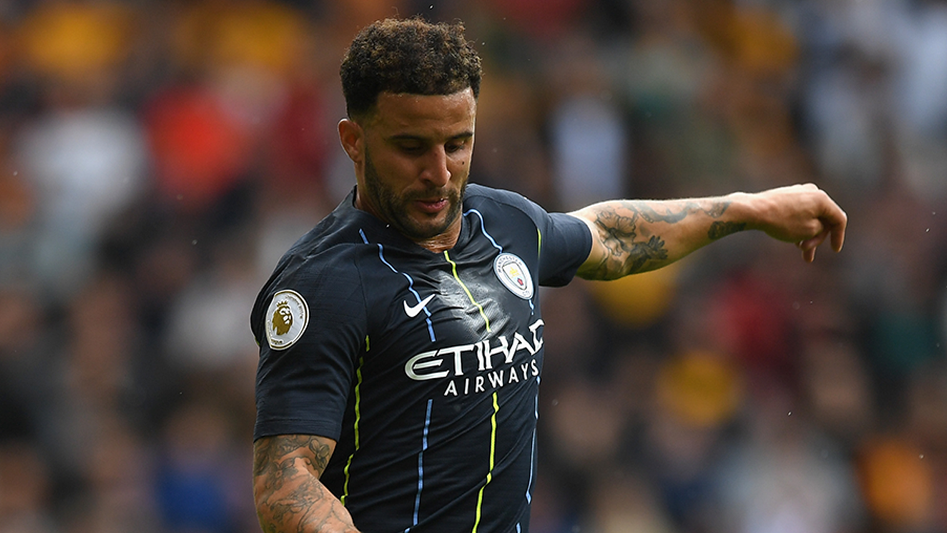 Why Does Kyle Walker Have Holes In His Socks Goal Com