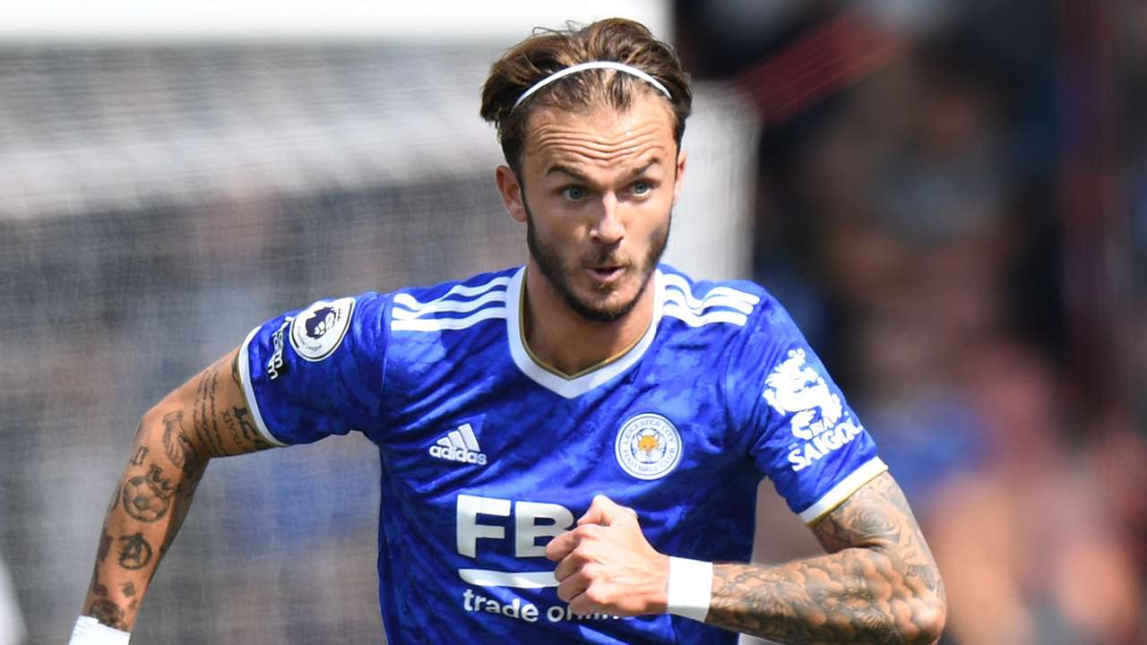 James Maddison Leicester 2021-22