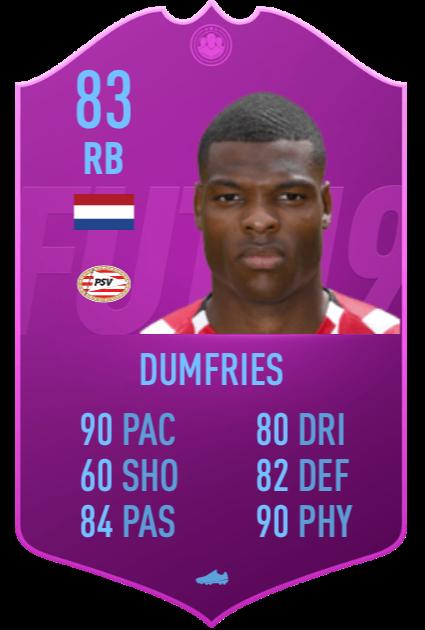 Denzel Dumfries PSV