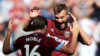 Andriy Yarmolenko Mark Noble West Ham 290919