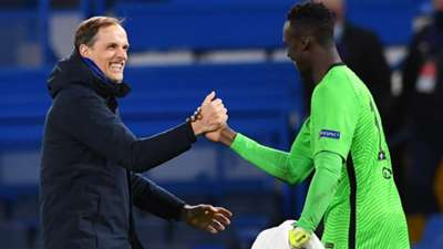 Thomas Tuchel Edouard Mendy Chelsea 2020-21