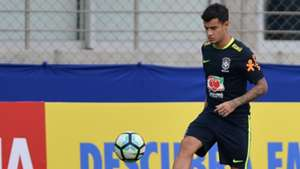Philippe Coutinho Brasil treino 28082017