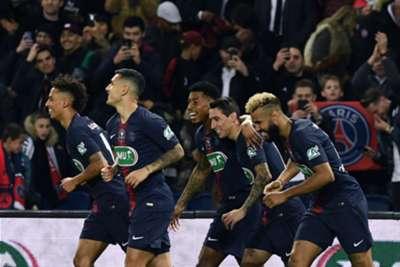 Angel Di Maria PSG Dijon Coupe de France 26022019