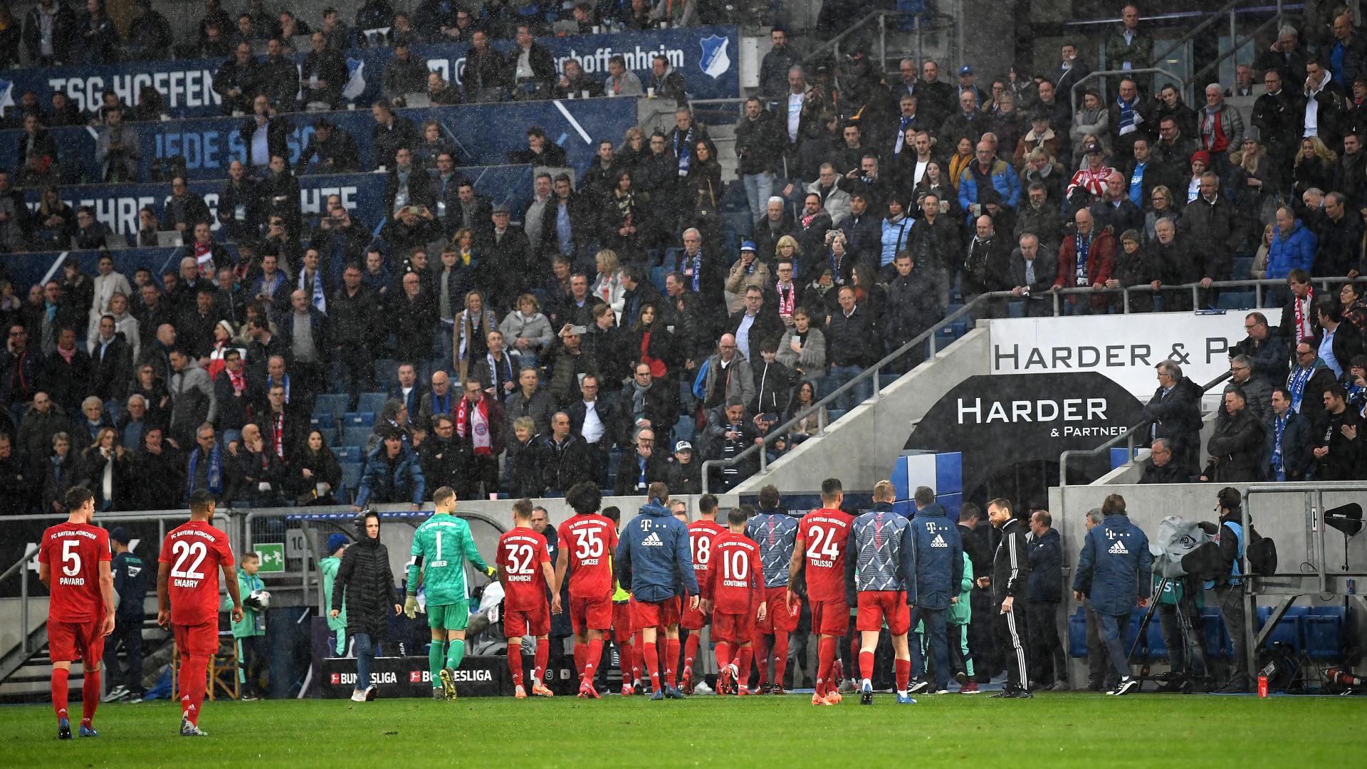 Vidéo : scène surréaliste avec les supporters bavarois lors de Hoffenheim-Bayern