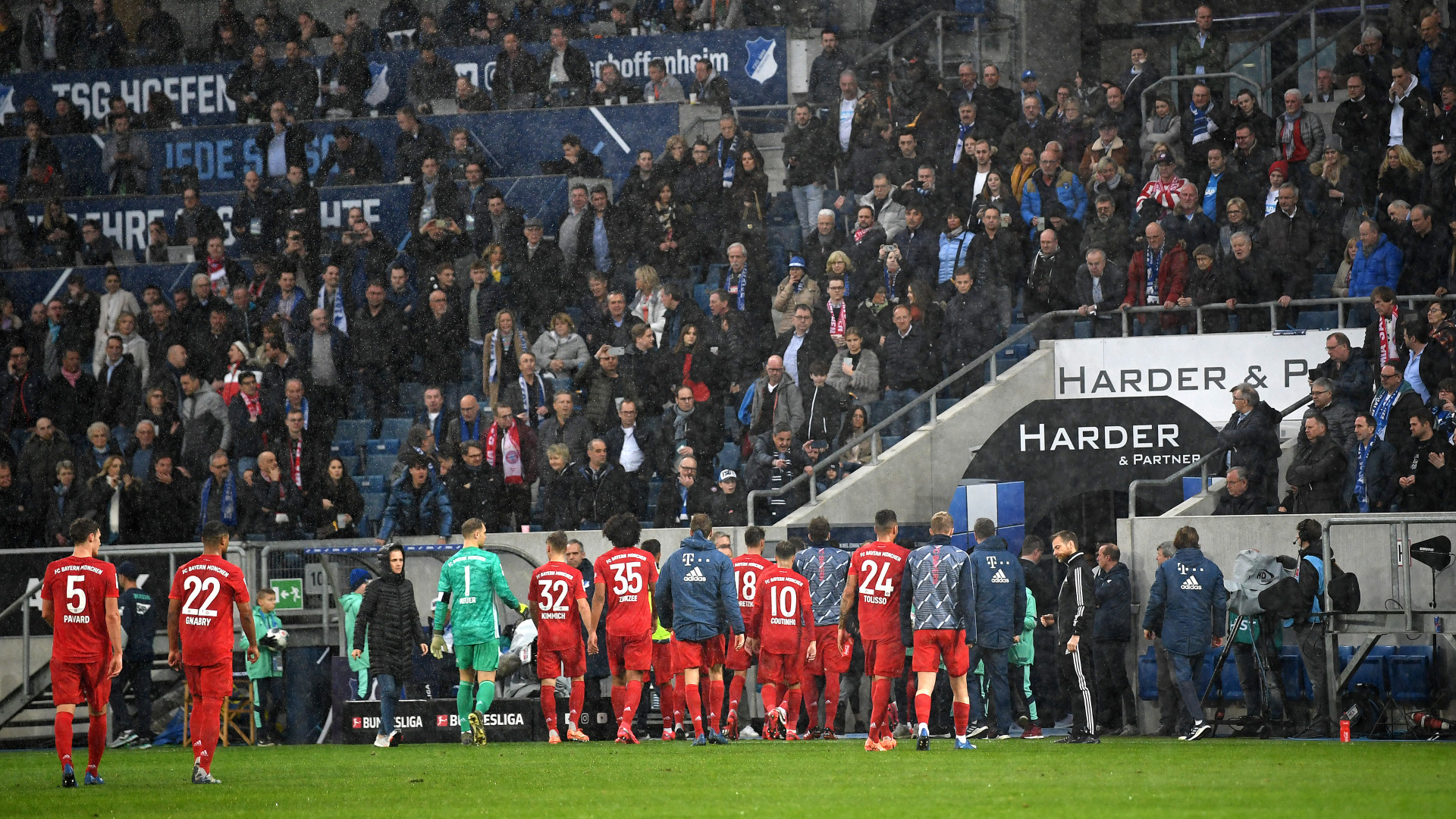 Allemagne - 24e journée - Hoffenheim-Bayern interrompu en raison de banderoles