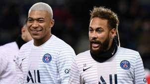 Kylian Mbappe Neymar PSG Paris Saint-Germain 2019-20