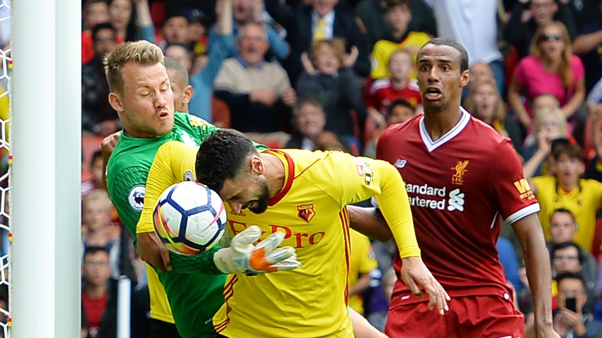 Mignolet Britos Matip Liverpool Watford