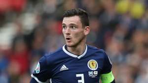 Andy Robertson Scotland Euro 2020 qualifying