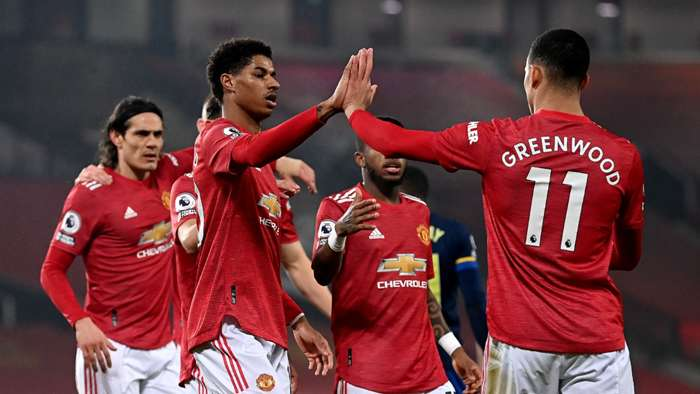 Rashford Greenwood Manchester United 2021