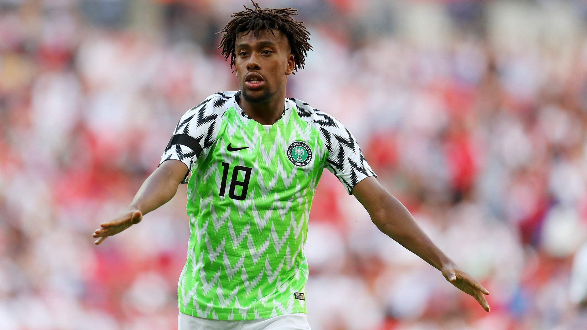 EXTRA TIME: Iwobi's Arsenal teammate Aubameyang pleads for Nigeria ...