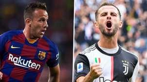 Arthur Melo, Miralem Pjanic, Barcelona, Juventus