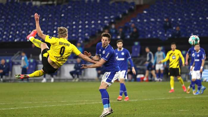 FC Schalke 04 Borussia Dortmund Erling Haaland