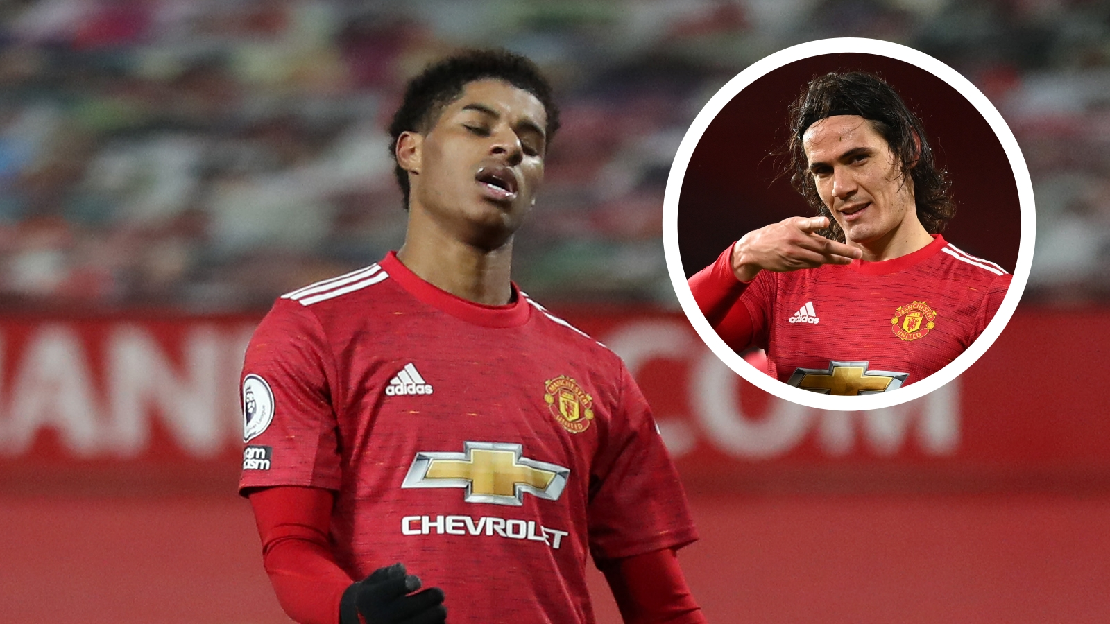 'Rashford won't be a clinical centre-forward like Cavani' – Man Utd striker can't be relied upon to get 20 goals, says Cole