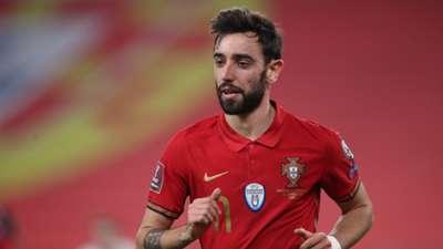 Bruno Fernandes Portugal 2021