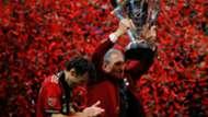Arthur Blank Michael Parkhurst Atlanta United MLS Cup 2018