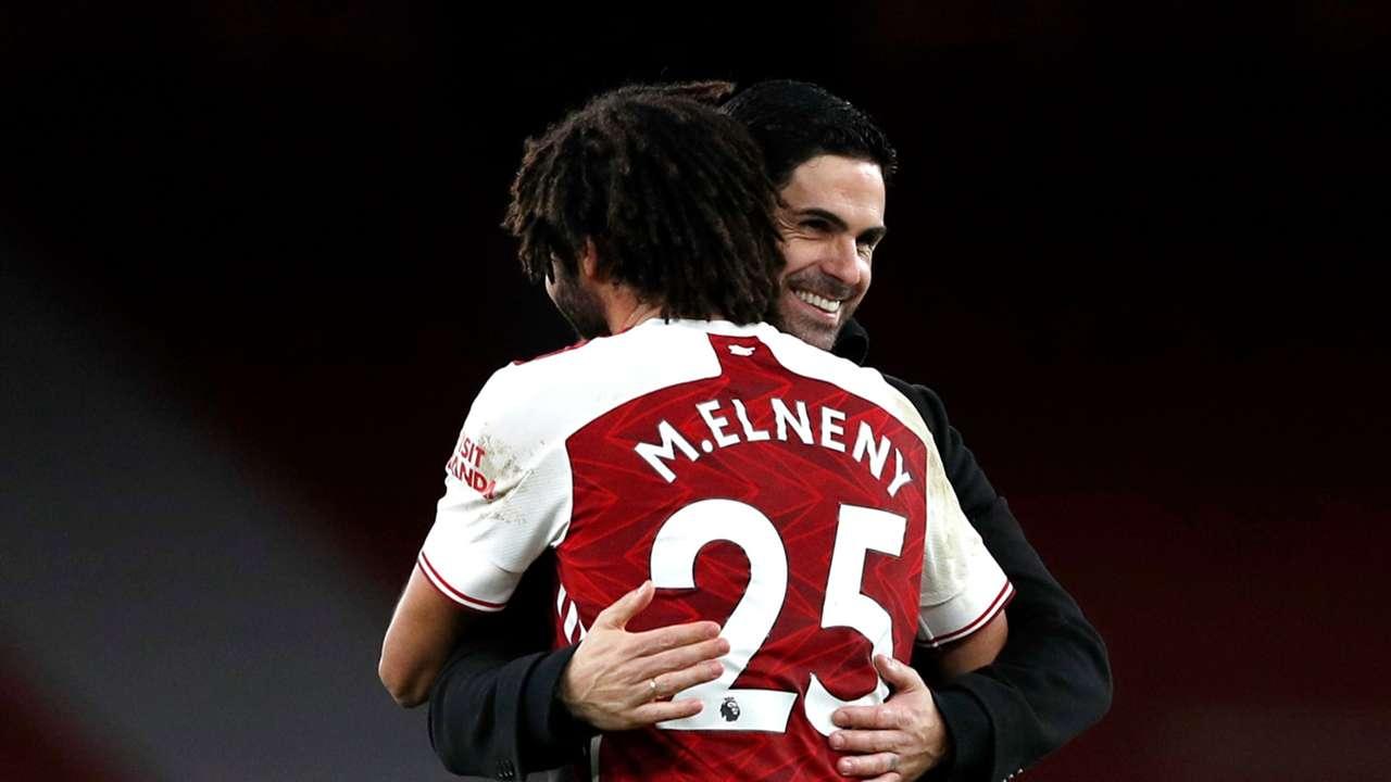 Arteta Elneny Arsenal 2020
