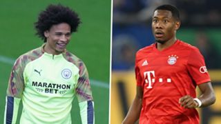 Leroy Sane David Alaba