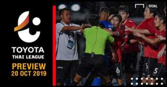 PREVIEW TOYOTA THAI LEAGUE : นัดที่ 29 (วันอาทิตย์ ที่ 20 ตุลาคม 2019)