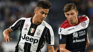 Dybala Barella Juventus Cagliari Serie A