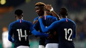 Moussa Dembelé Jonathan Bamba Germany France U21 Friendly 21032019