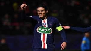 Edinson Cavani Linas PSG Coupe de France 05012019