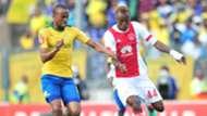 Tiyani Mabunda, Mamelodi Sundowns & Yannick Zakri, Ajax Cape Town, April 2018