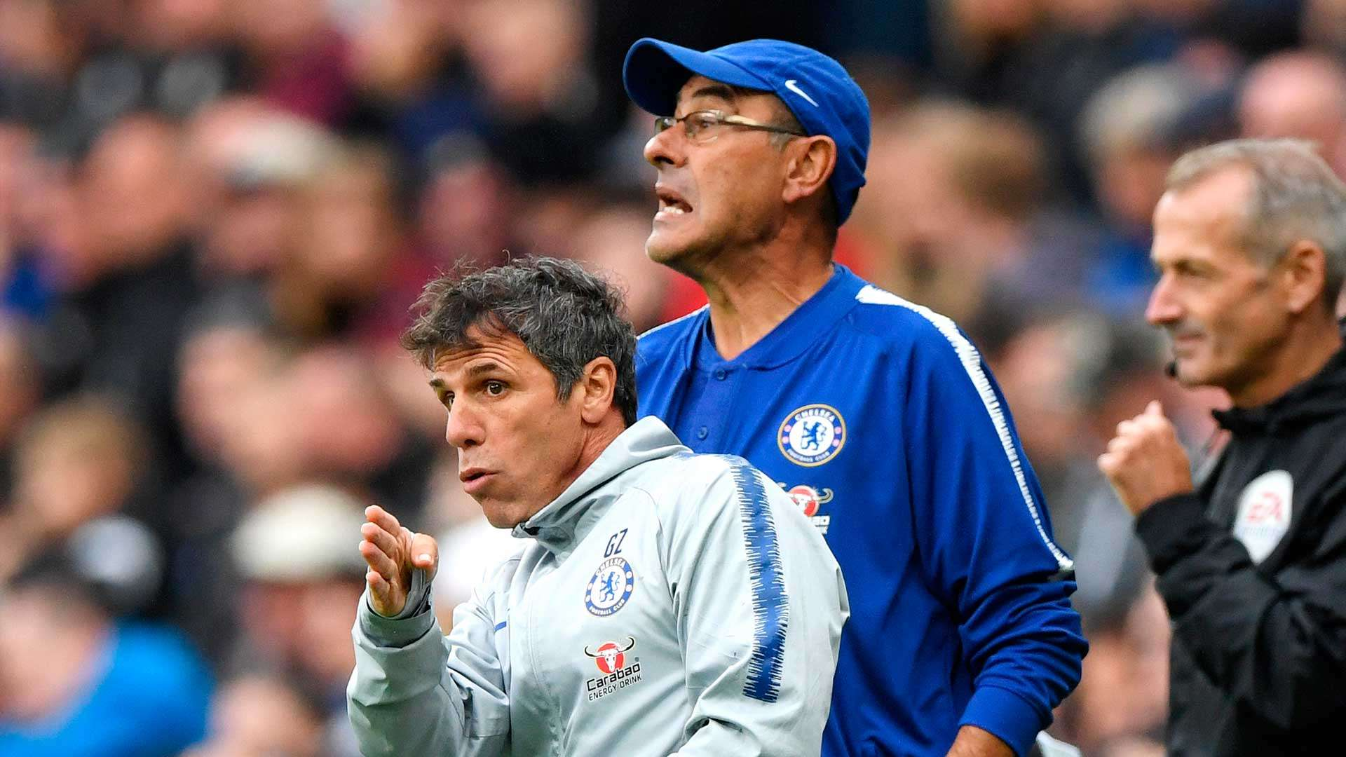 Zola: Chelsea stint with enigmatic Sarri was difficult, but ...