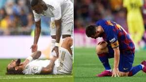 Marcelo y Messi, Real Madrid y Barcelona