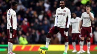 Darren Bent Asamoah Gyan Sunderland
