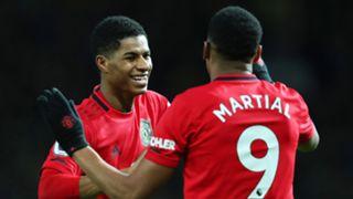 Marcus Rashford Anthony Martial Man Utd