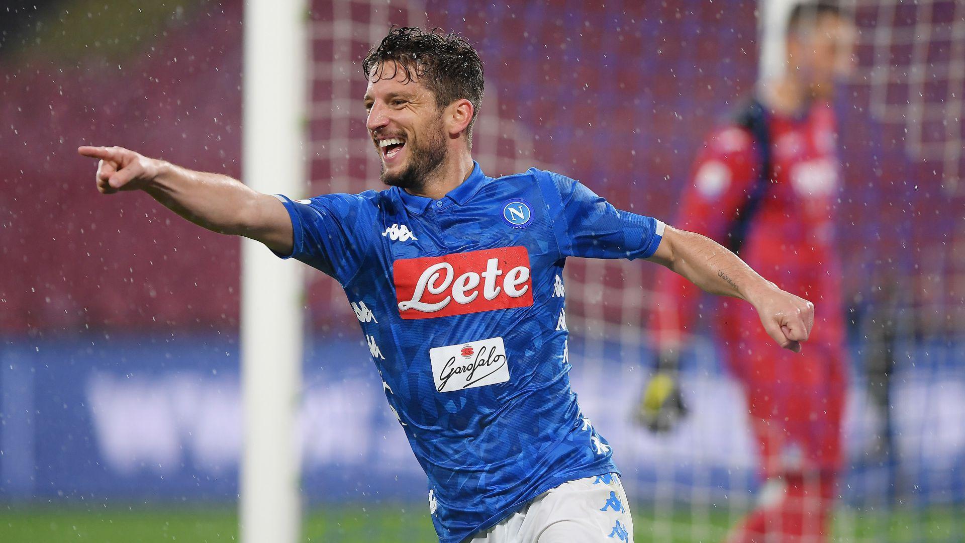 Dries Mertens Napoli Atalanta Serie A