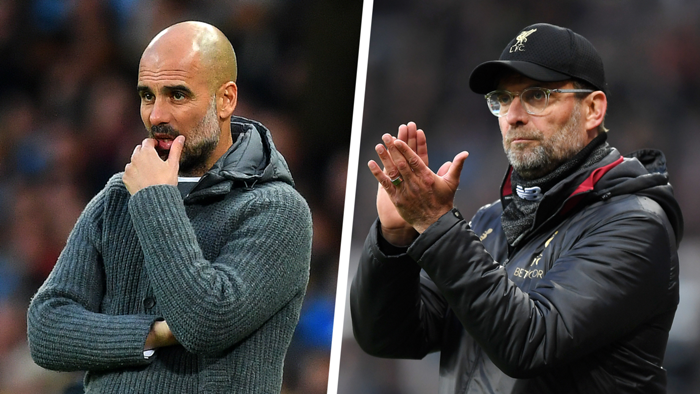 Pep Guardiola Jurgen Klopp Premier League 2018-19