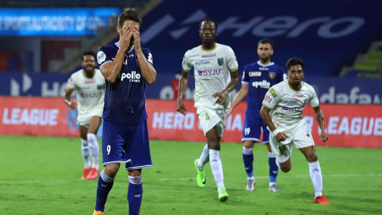 Jakub Sylvestr, Chennaiyin vs Kerala Blasters