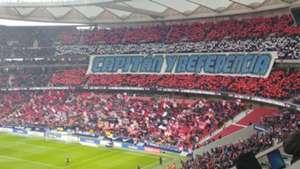 Mosaico Gabi Atletico Madrid