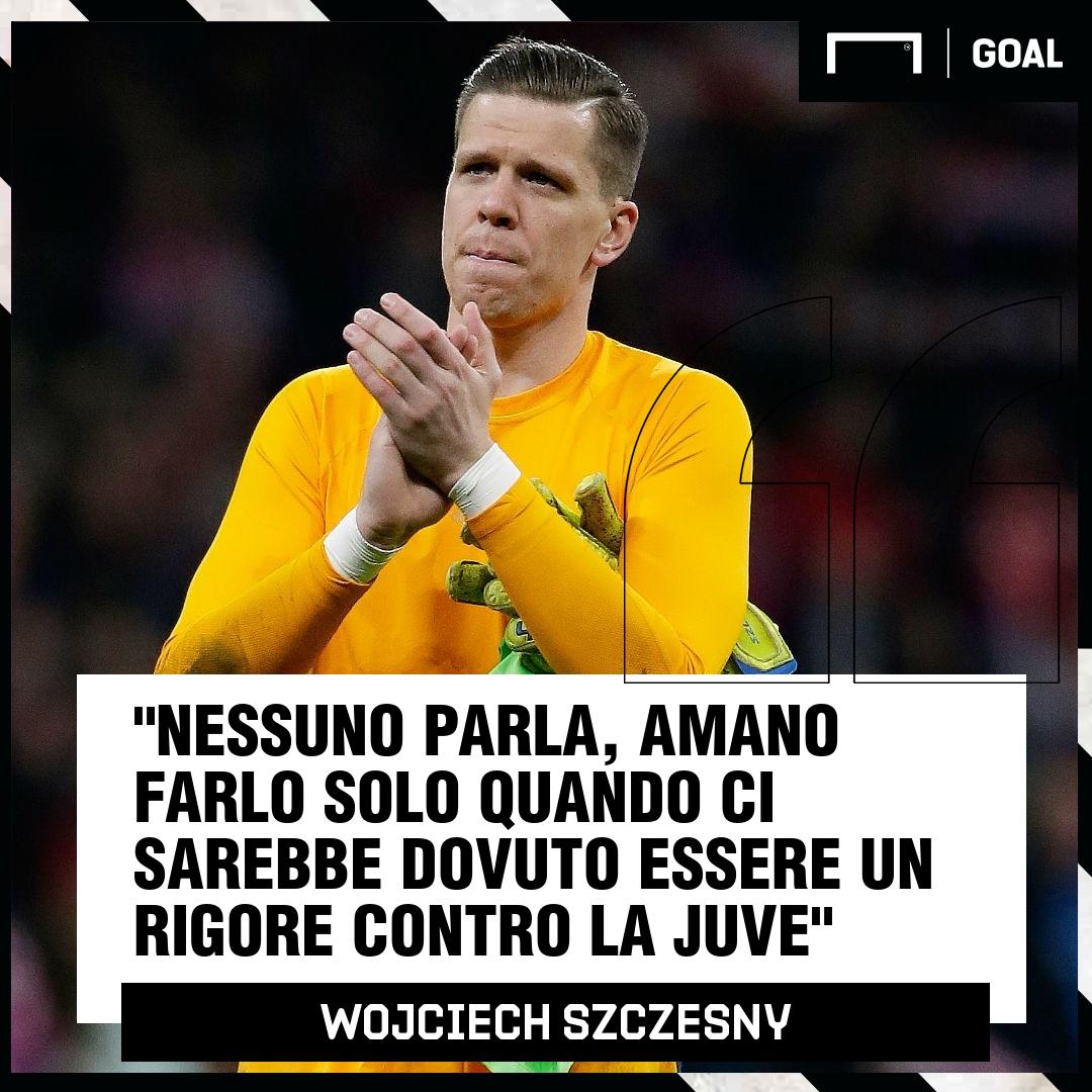 Szczesny intervista De Ligt: