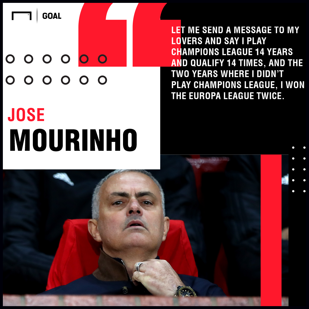 One Man Bigger Than Manchester United Jose Mourinho Ego Game Is Out Of Control Goal Com