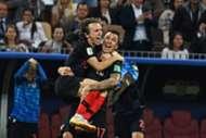 Luka Modric & Mario Mandzukic