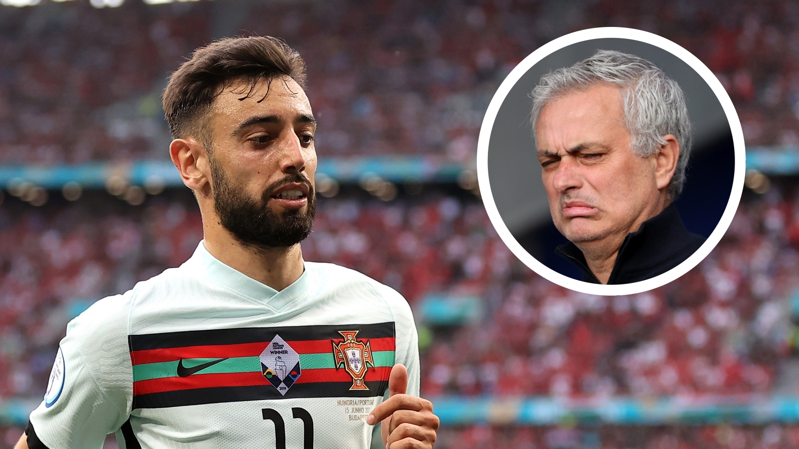 Fernandes has ghosted for Portugal at Euro 2020 - Mourinho