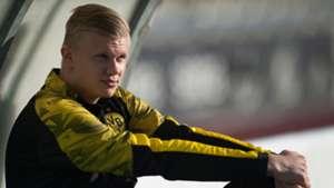 Dortmund monitoring Haaland ahead of potential Bundesliga debut