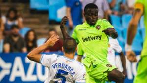 Moses Simon - Levante vs. Real Zaragoza , friendly
