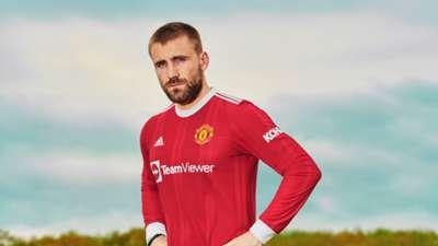 Luke Shaw Man Utd 2020-21 Kit