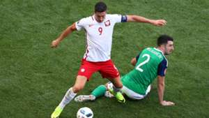 Robert Lewandowski, Poland, Conor McLaughlin, Northern Ireland