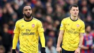 Alexandre Lacazette, Crystal Palace vs Arsenal
