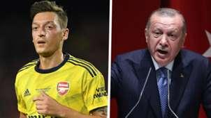 Mesut Ozil Tayyip Erdogan