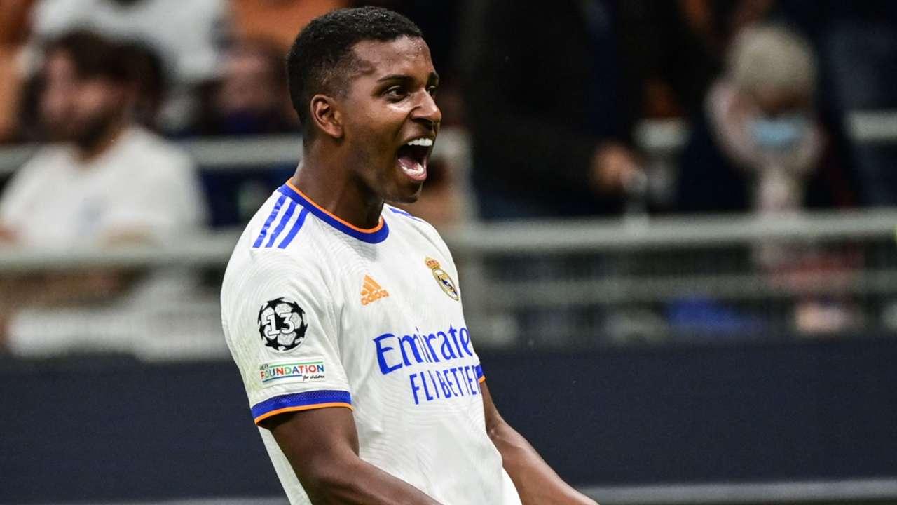Rodrygo Real Madrid 2021-22