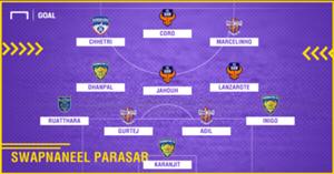 GFX Swapnaneel Parasar ISL 4 Team of the Season