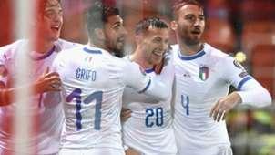 Liechteinstein Italy celebrating