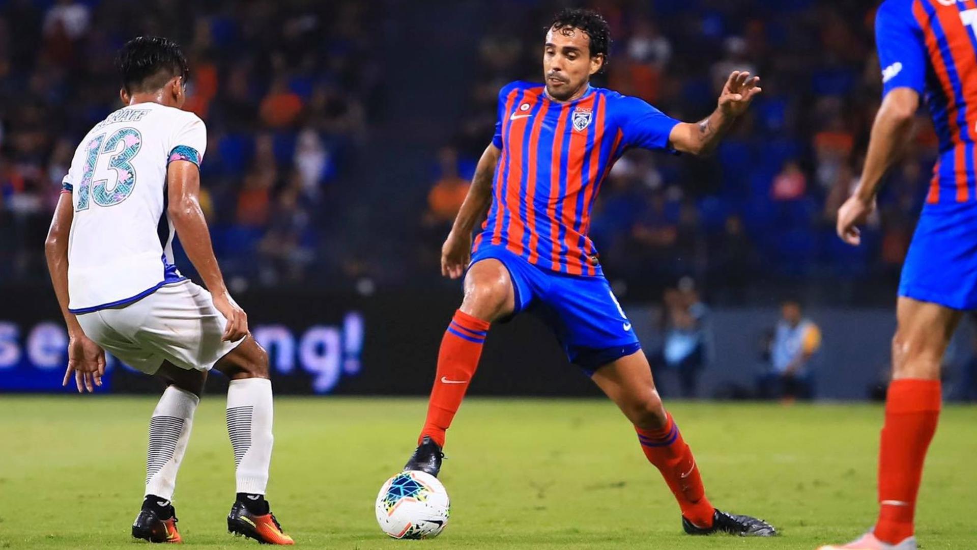 Diogo Luis Santo, Johor Darul Ta'zim v UiTM FC, Super League, 7 Mar 2020