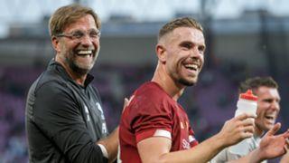 Jurgen Klopp Jordan Henderson Liverpool 2019-20
